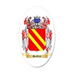 Sudley Oval Car Magnet