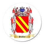 Sudley Round Car Magnet