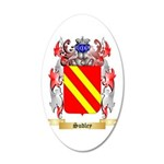 Sudley 20x12 Oval Wall Decal
