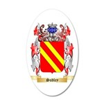 Sudley 35x21 Oval Wall Decal