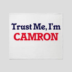 Trust Me, I'm Camron Throw Blanket