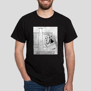 Bank Cartoon 3635 Dark T-Shirt