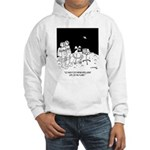 Astronaut Cartoon 5595 Hooded Sweatshirt