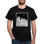 Astronaut Cartoon 5595 Dark T-Shirt