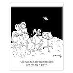 Astronaut Cartoon 5595 Small Poster