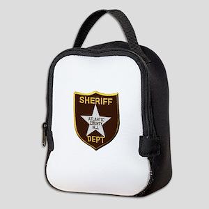 Atlantic County Sheriff Neoprene Lunch Bag