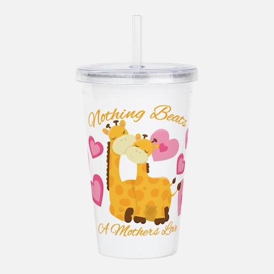 Giraffe Love Acrylic Double-Wall Tumbler