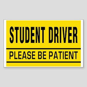 Student Driver Big Magnet Sticker