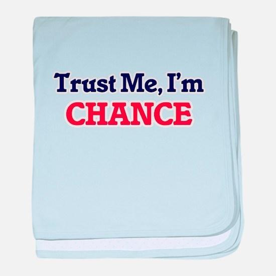 Trust Me, I'm Chance baby blanket