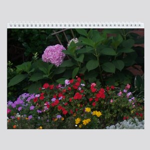 Colorful Blossoms Wall Calendar