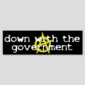 Anti-Gov't Bumper Sticker
