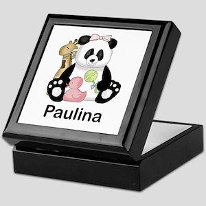 paulina's little panda Keepsake Box