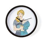 Split Mina Wall Clock