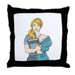 Split Mina Throw Pillow