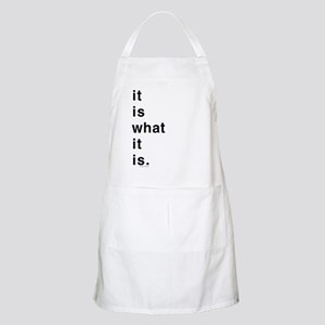 What It Is BBQ Apron