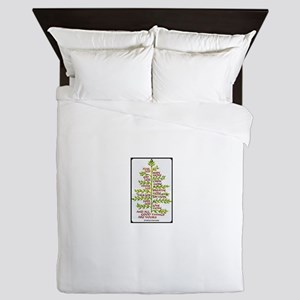 Swedish Proverb Queen Duvet