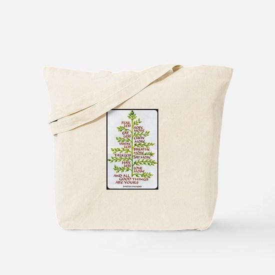 Swedish Proverb Tote Bag