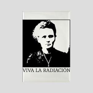 Marie Curie - Viva la Radiación Magnets