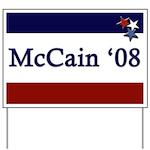 McCain '08 Yard Sign