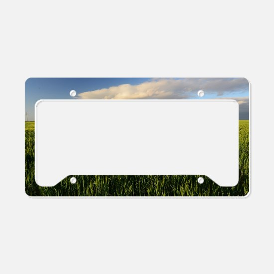 Funny Open source License Plate Holder