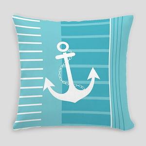 Nautical Summer Design Everyday Pillow