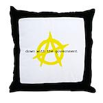 Anti-Gov't Throw Pillow