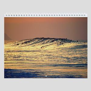 Hawaii Huge Winter Surf Wall Calendar