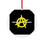 Anti-Gov't Ornament (Round)