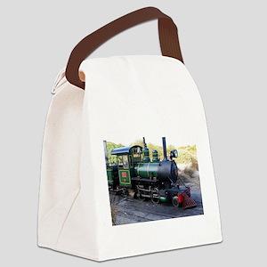 Steam engine locomotive, Australi Canvas Lunch Bag