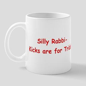 Silly Rabbi Mug