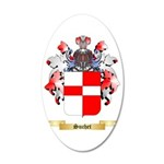 Suchet 35x21 Oval Wall Decal