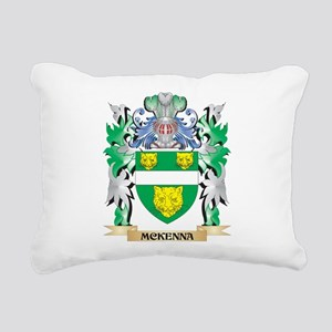 Mckenna Coat of Arms - F Rectangular Canvas Pillow