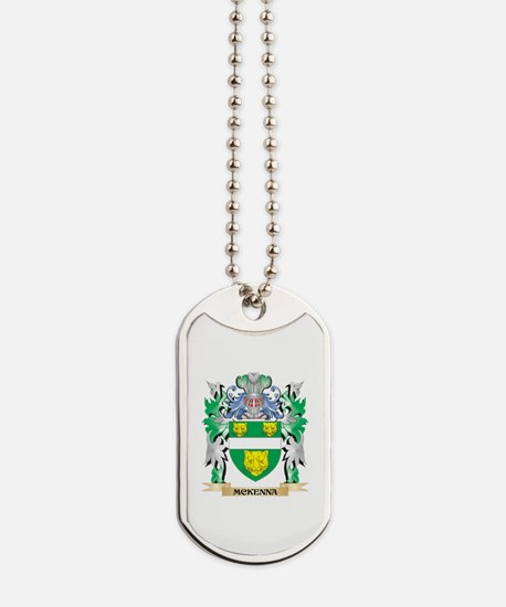 Mckenna Coat of Arms - Family Crest Dog Tags