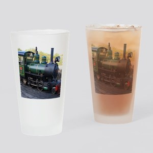 Steam engine locomotive, Australia Drinking Glass