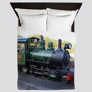 Steam engine locomotive, Australia Queen Duvet