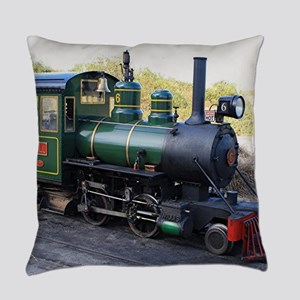 Steam engine locomotive, Australia Everyday Pillow