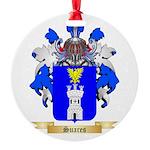 Suares Round Ornament