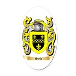 Style Oval Car Magnet