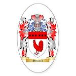 Stutard Sticker (Oval 50 pk)