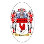 Stuttert Sticker (Oval 50 pk)