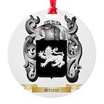 Sturm Round Ornament