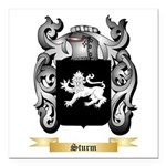 Sturm Square Car Magnet 3