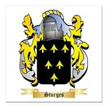 Sturges Square Car Magnet 3