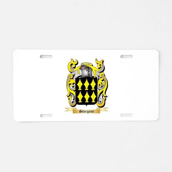Sturgeon Aluminum License Plate