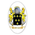Sturge Sticker (Oval)