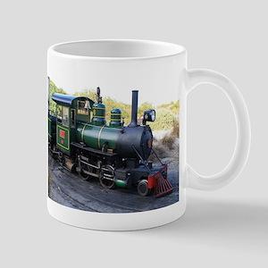 Steam engine locomotive, Australia Mugs