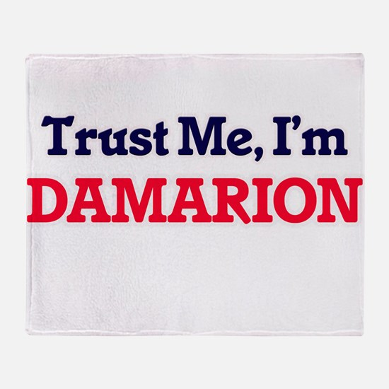 Trust Me, I'm Damarion Throw Blanket