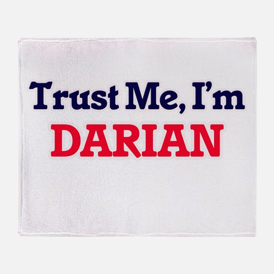 Trust Me, I'm Darian Throw Blanket