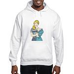 Split Mina Hooded Sweatshirt
