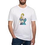 Split Mina Fitted T-Shirt